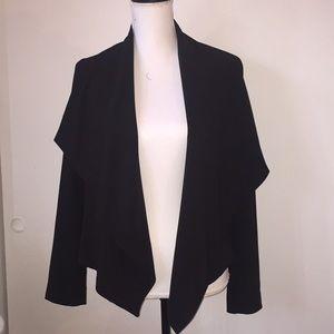 Express shawl collar cropped blazer